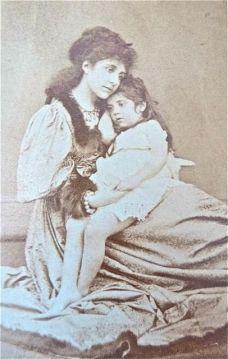 Mariella Sakilariou Wheeler & Ephrosyne: Mariella was a lady's maid before she was a mum