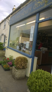 Photo of the entrance to the Hawkesbury Shop