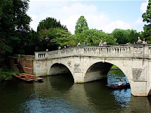 Cambridge: Clare College bridge