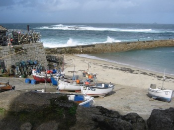 Lobster boats, Sennen Cove