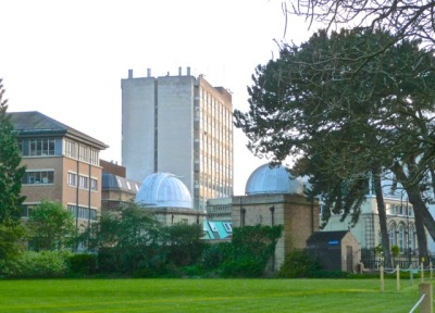 Oxford University science area from the Parks