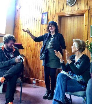 Debbie Dan & poetry session