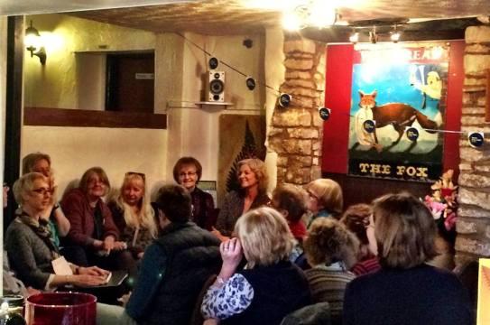 fiction authors panel