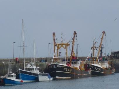 newlyn fidsing boats