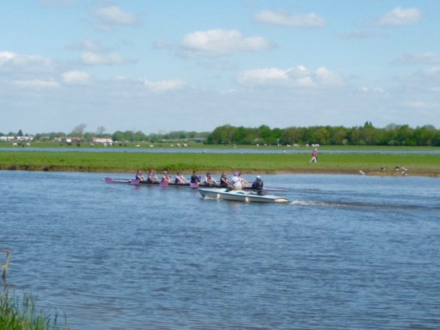 rowing green & pleasant land