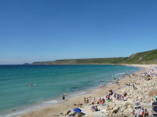 Sennen whitesands beach
