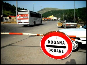?border crossing Albania?